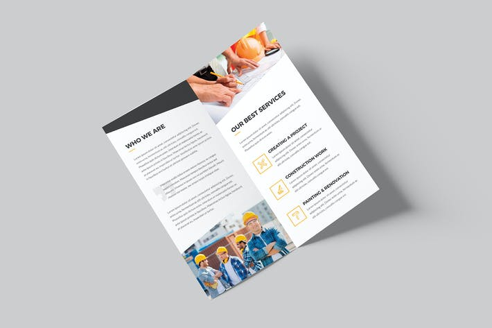 Thumbnail for Brochure – Architecture & Construction Bi-Fold DL