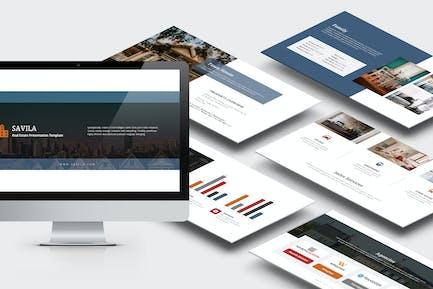 Savila : Property & Real Estate Agent Powerpoint