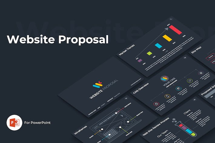 Thumbnail for Website Proposal PowerPoint Template