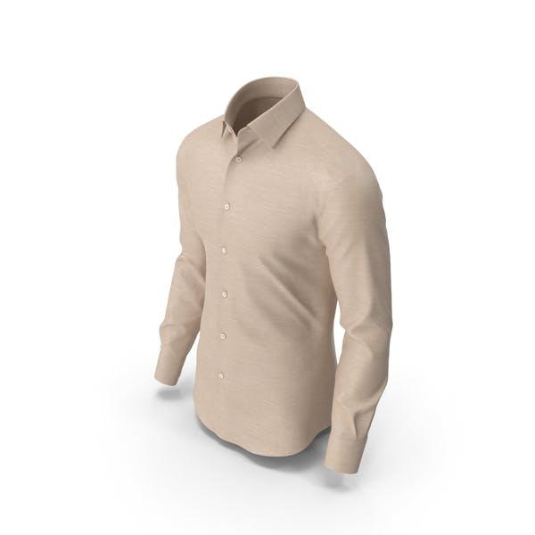 Mens Shirt Beige