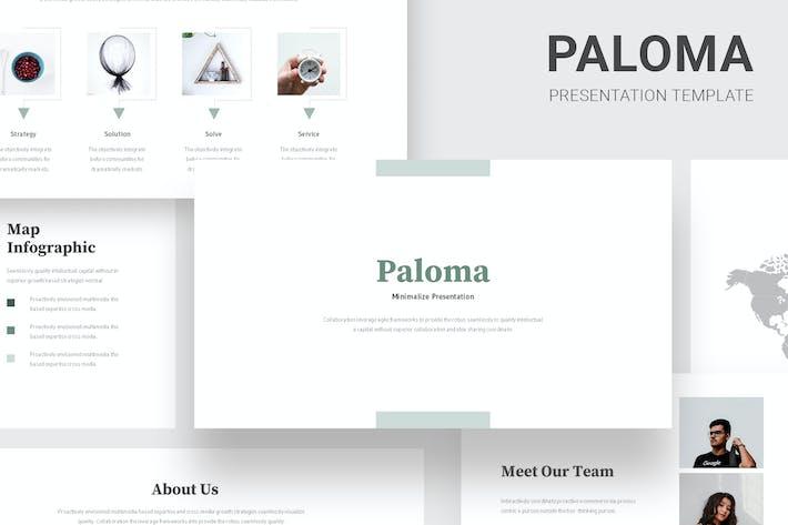Paloma - Minimalist Style Keynote