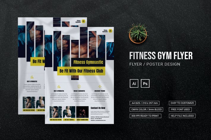 Fitness Gym - Flyer