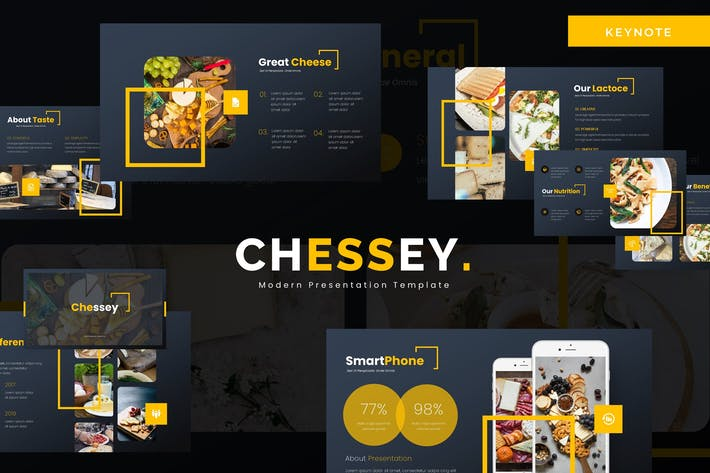 Thumbnail for Chessey - Keynote Template