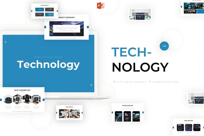 Thumbnail for Technology - Powerpoint Template