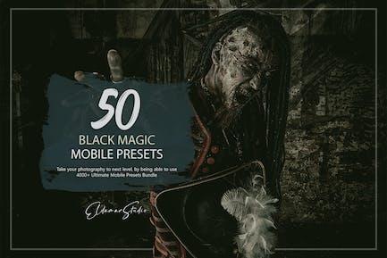 50 Black Magic Mobile Presets Pack