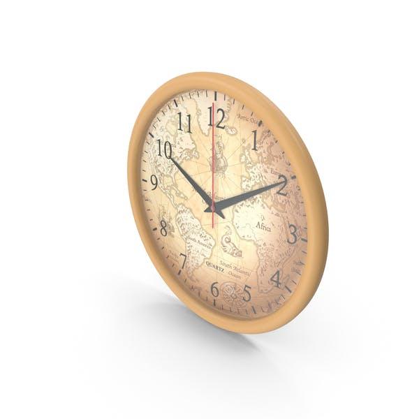 Thumbnail for Map Wall Clock
