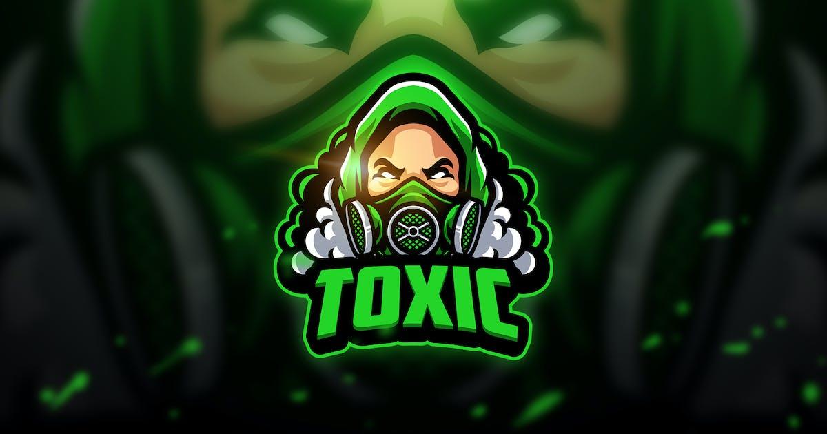 Download Toxicc - Mascot & Esport Logo by aqrstudio