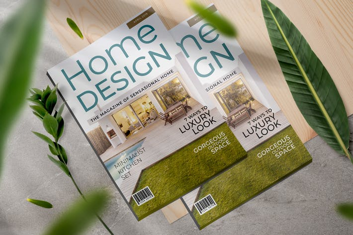 Thumbnail for Home Magazine Template