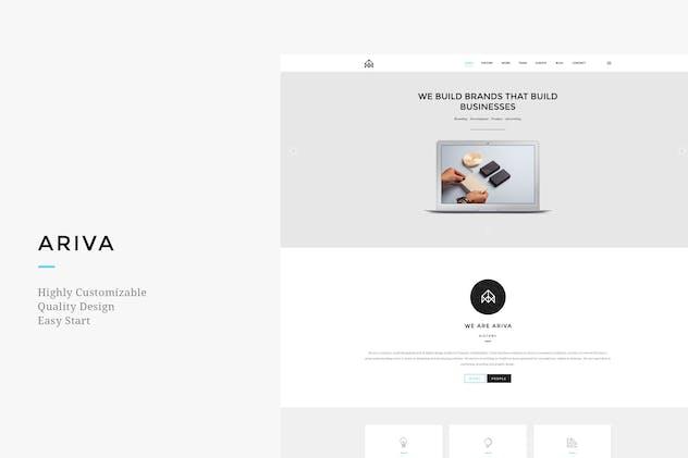 Ariva - Creative Joomla Template