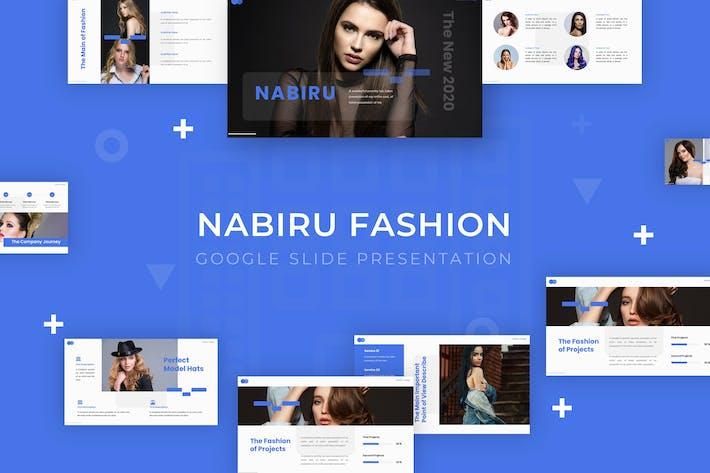 Thumbnail for Nabiru - Google Slide Template