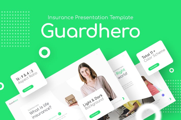 Thumbnail for Guardhero Insurance Presentation Template