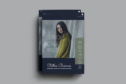 Clothes Business Brochure