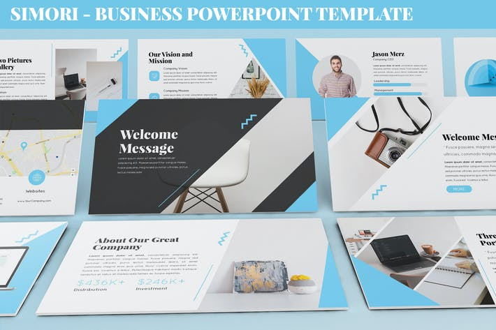 Thumbnail for Simori - Business Powerpoint Template