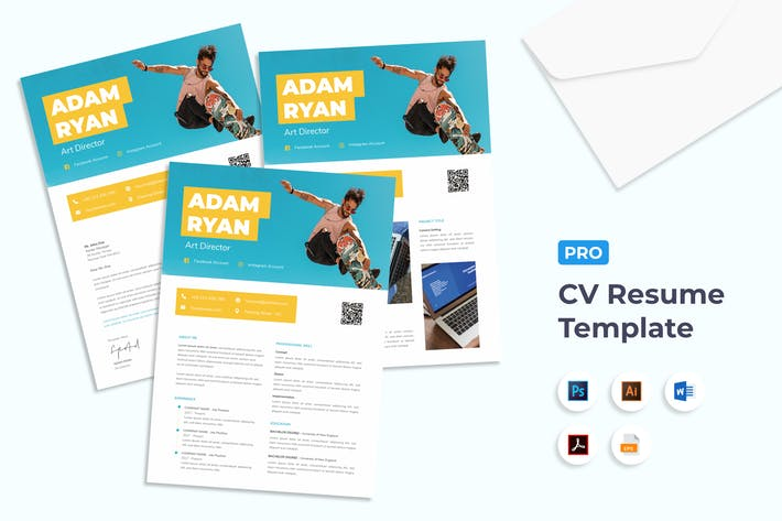 Thumbnail for CV Resume Art Director