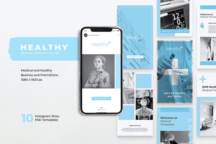 HEALTHY Medical Instagram Stories