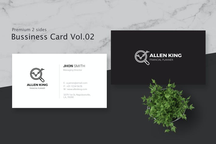 Thumbnail for Business Card Pro V.002