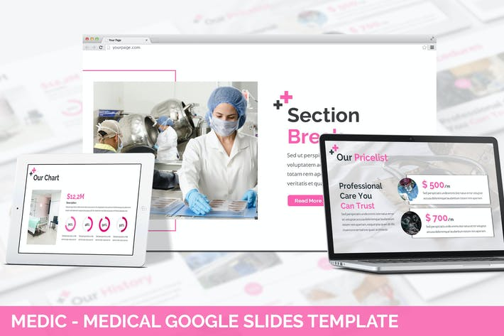 Thumbnail for Urban - Medic Google Slides Template