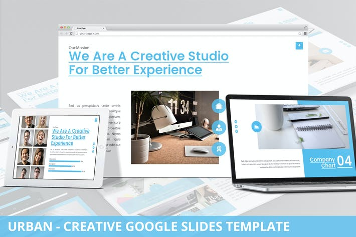 Thumbnail for Urban - Creative Agency Google Slides Template
