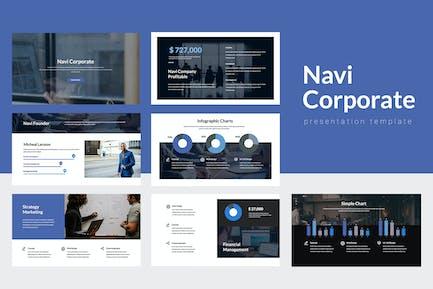 Navi - Corporate Powerpoint Template