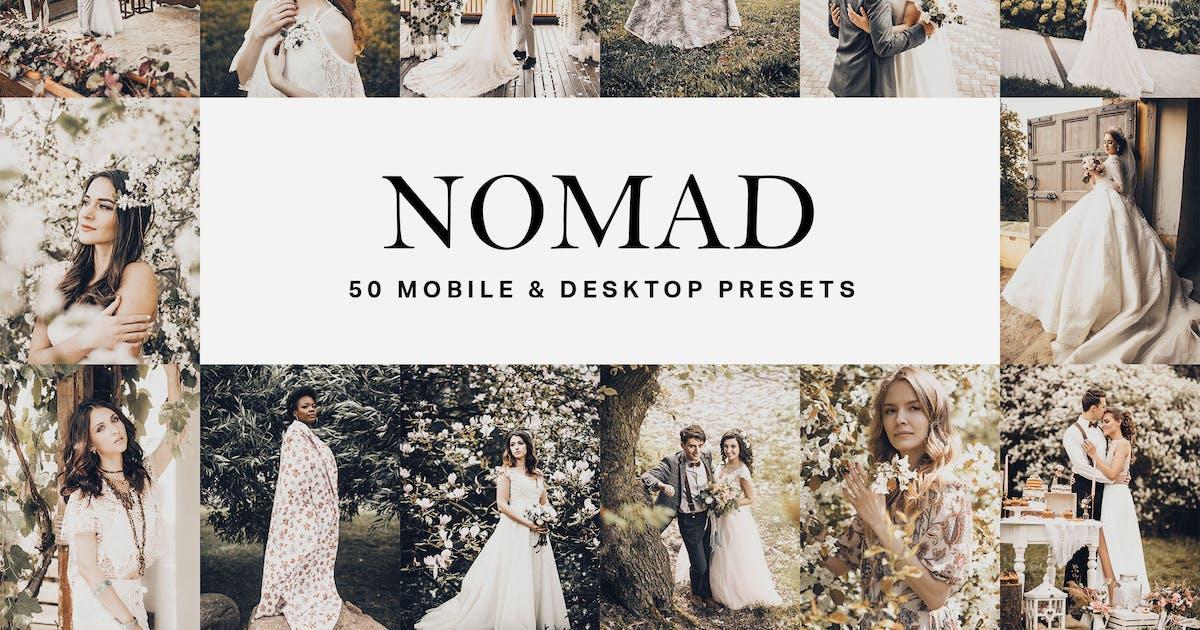 Download 50 Nomad Lightroom Presets and LUTs by sparklestock