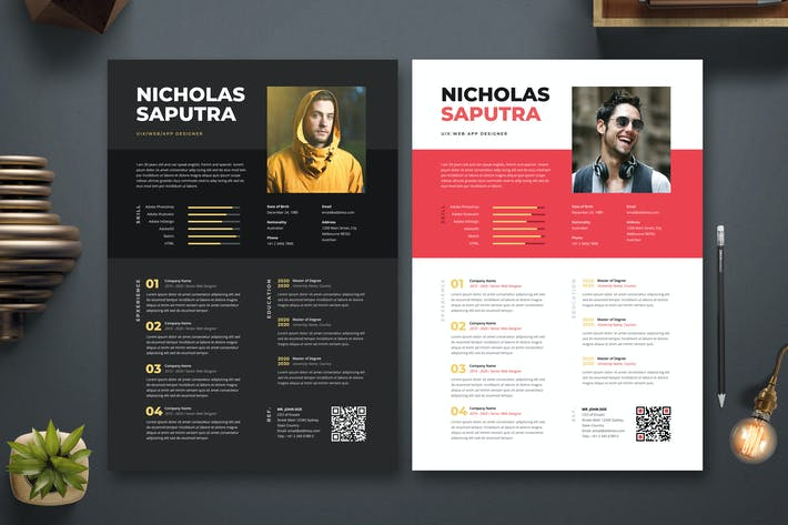 Thumbnail for Creative Modern Resume / CV Template 49