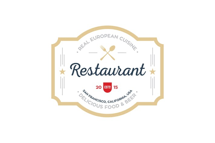 Thumbnail for Restaurant Logo Templates