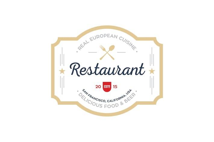 Thumbnail for Restaurant Logo Templates