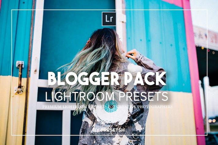 Thumbnail for Blogger lightroom presets