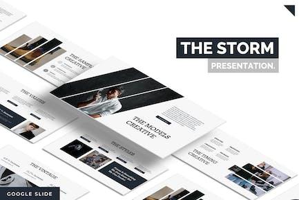 The Storm  - Google Slides Template