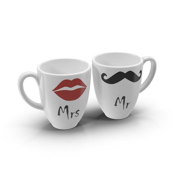 Мистер и миссис кофе чашки
