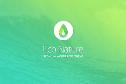 Eco Naturaleza - Medio Ambiente & Ecología WordPress Tema
