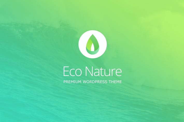 Cover Image For Eco Nature - Environment & Ecology WordPress Theme