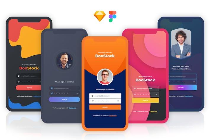 Thumbnail for Registration App Screens