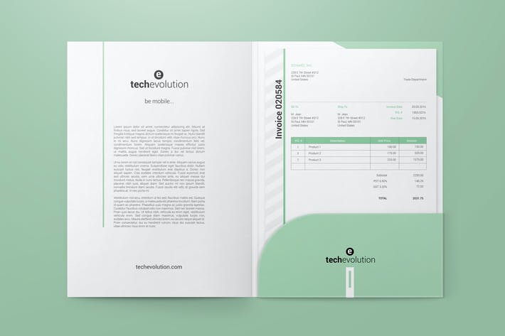 Thumbnail for Paper Folder Mockups