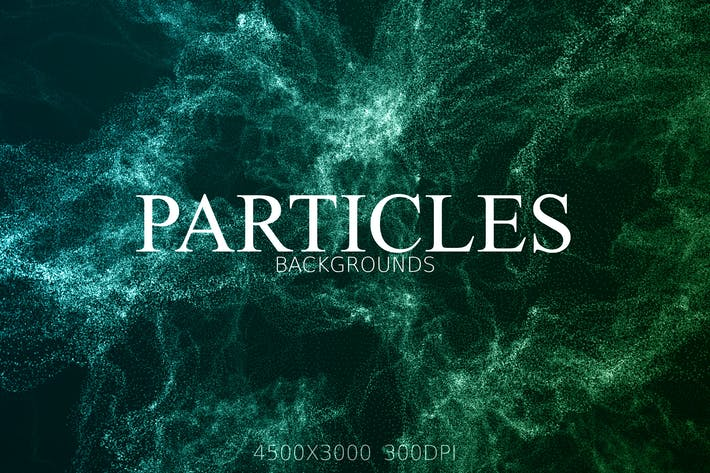 Thumbnail for Glitter Particles Background