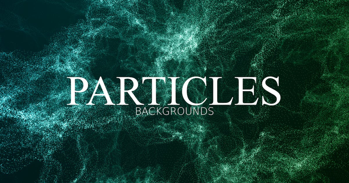 Download Glitter Particles Background by VProxy