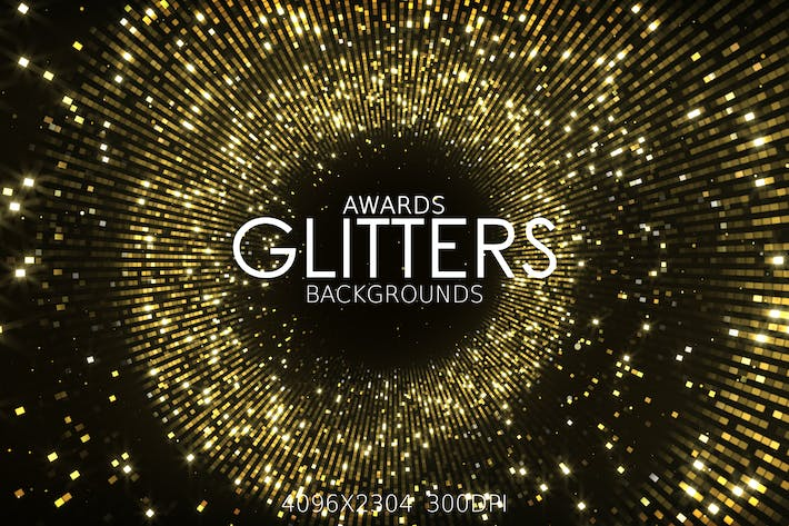 Thumbnail for Awards Glitters Backgrounds