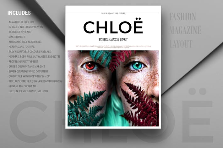Thumbnail for CHLOË | FASHION MAGAZINE