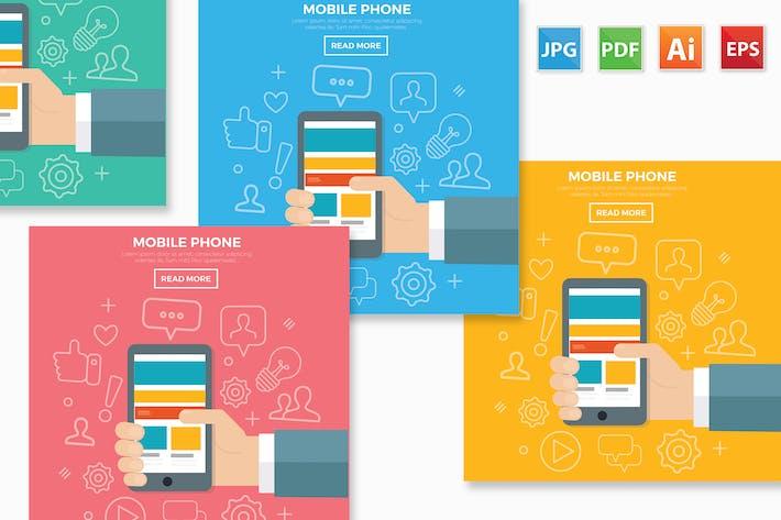 Thumbnail for Mobile phone design