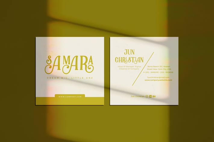 Thumbnail for Samara Business Card
