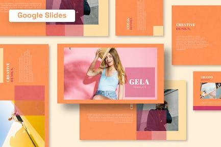 Gela - Шаблон слайдов Google