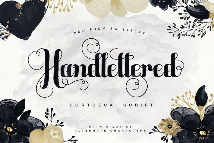Thumbnail for Sortdecai Script