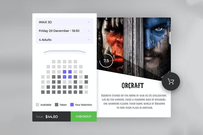 Thumbnail for Cinema Ticket Booking App