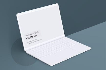 Minimal Macbook Air Mockup