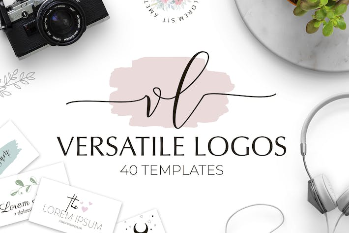 Thumbnail for Versatile Logo Templates