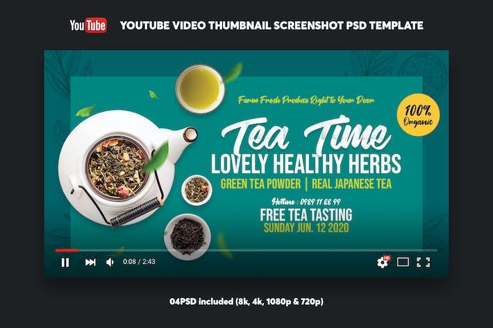 Thumbnail for Green Tea YouTube Video Thumbnail Screenshot