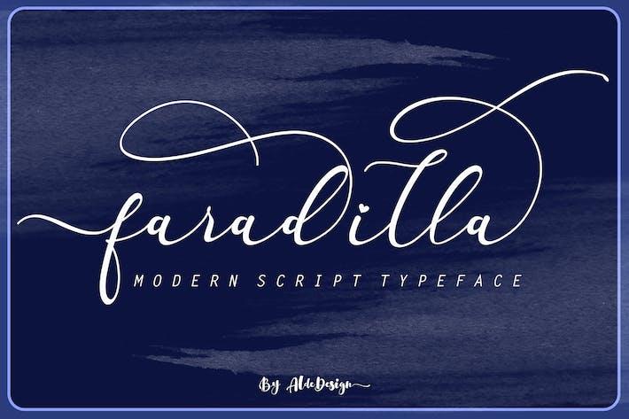 Thumbnail for Fradilla - Modern Script Typeface
