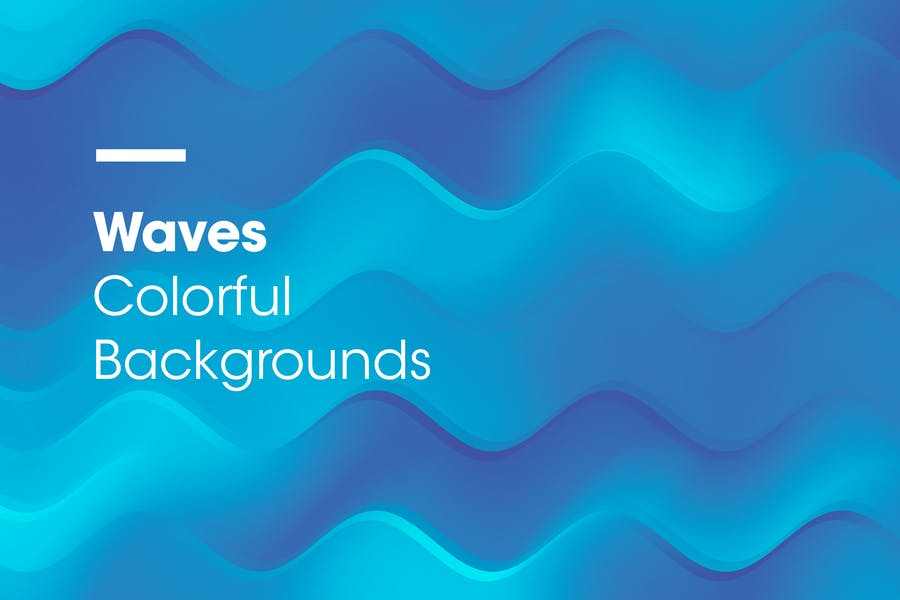 Waves | Colorful Backgrounds