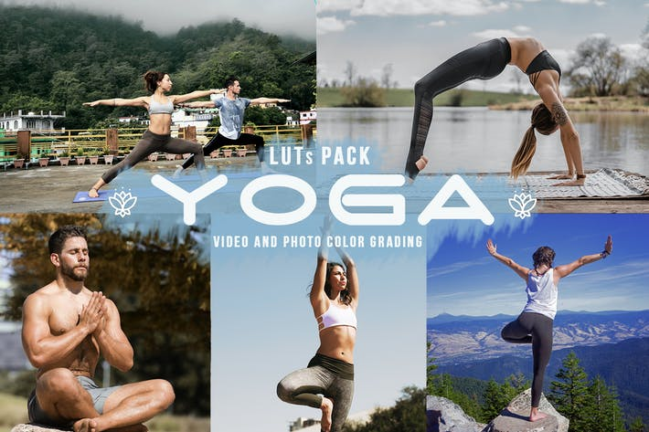 Thumbnail for Yoga LUTs - 11 Yoga looks for video creators