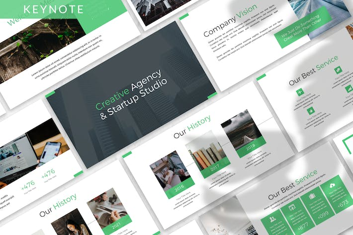 Thumbnail for Donke - Business Keynote Template
